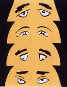 假眼面具手布巾
