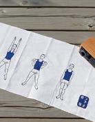 收音機體操手布巾