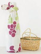 游中川葡萄手布巾