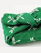 蜻蜓圖樣手布巾