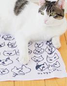 貓咪手布巾