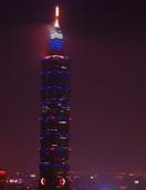 去101看台北市夜景