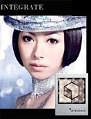 ---資生堂INTEGRAT---黑曈晶綻眼影盒