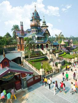 【香港】Disneyland讓大人也著迷的幸福童話