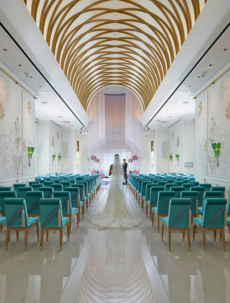 【台北】浪漫的歐式結婚進行曲!台北文華東方酒店首度開放預覽