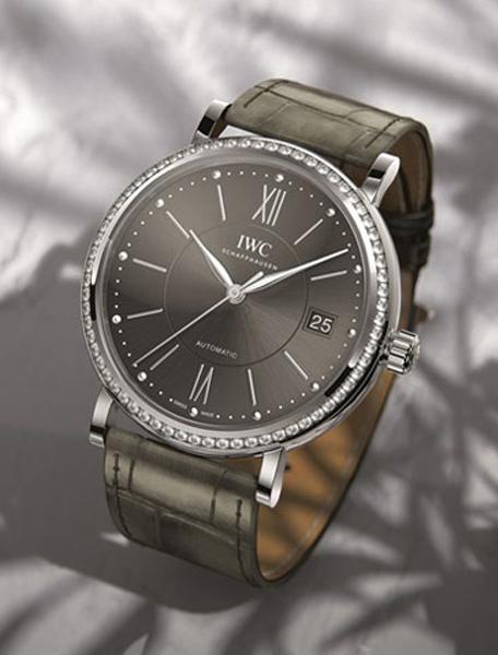 周迅也愛的情侶對錶!瑞士IWC萬國錶Portofino中裝錶的