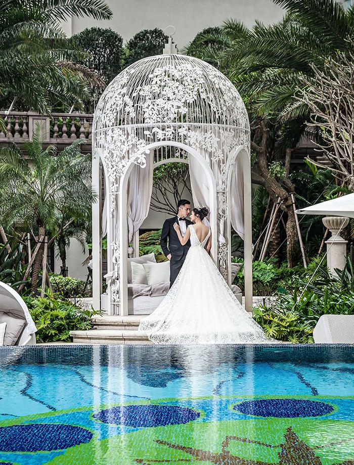 台北文華東方酒店 X CHIN CHIN,體驗奢華浪漫婚體