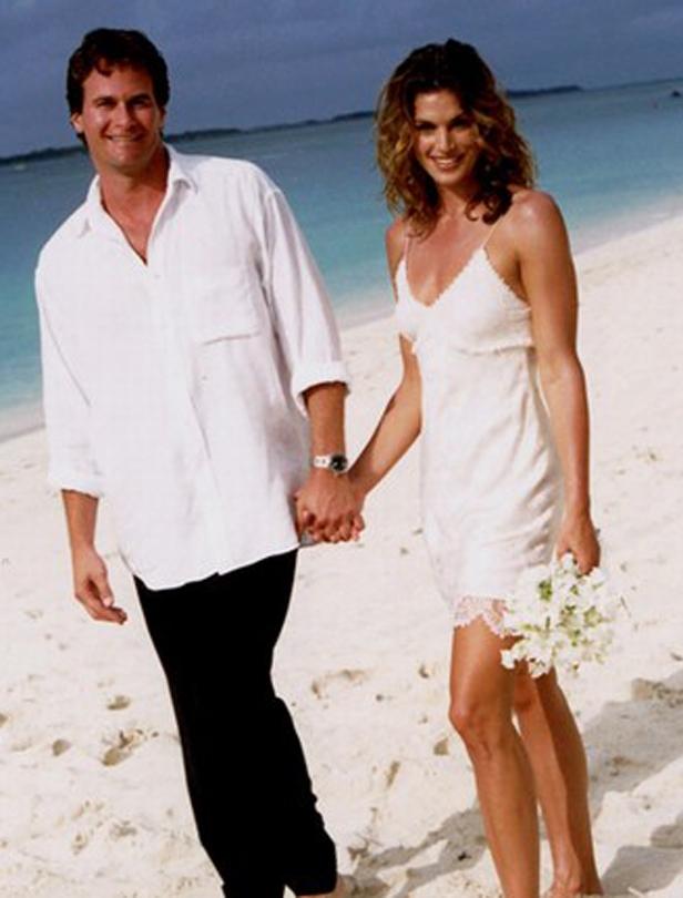 名模最美麗的時刻!超模和她們的夢幻婚禮