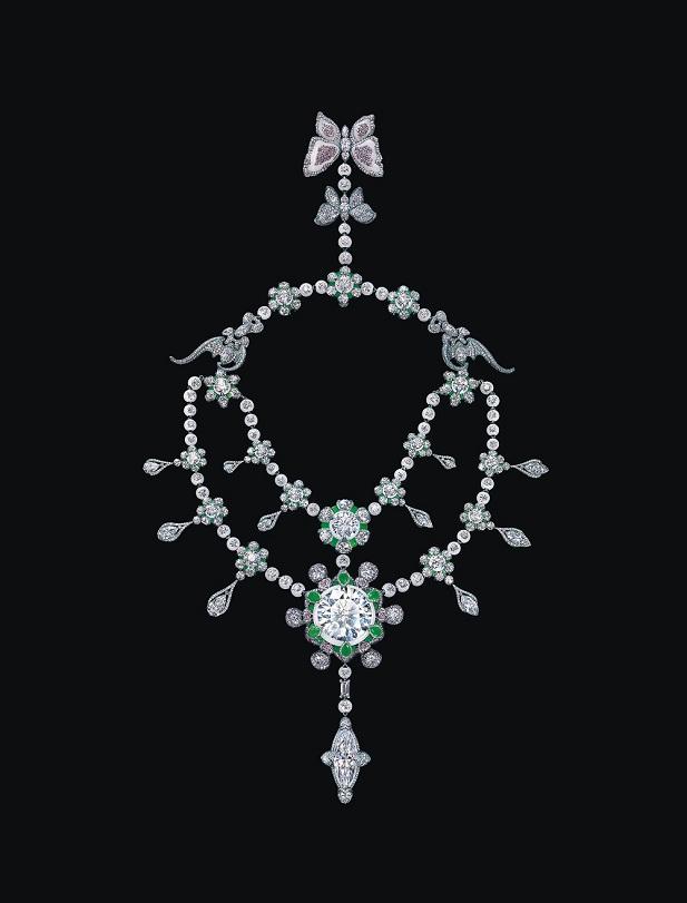 周大福 X 珠寶藝術家Wallace Chan創舉之作