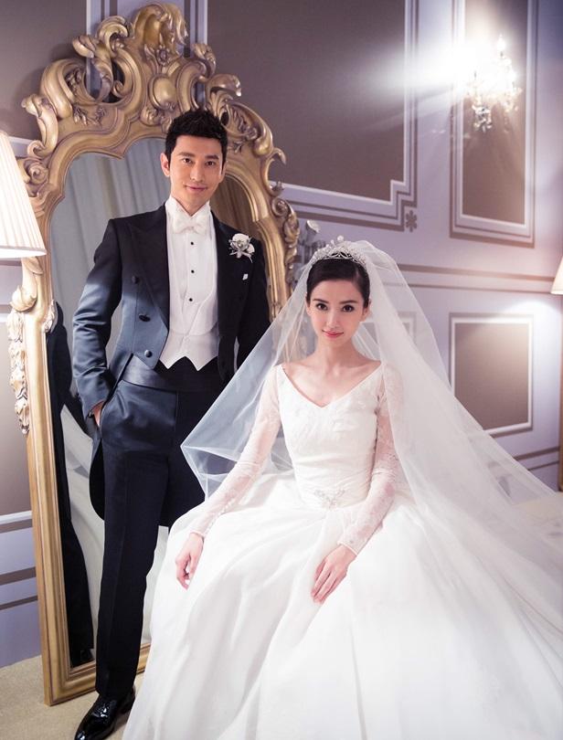 Angelababy與黃曉明的婚禮珠寶大有來頭,遠自法國殿堂級