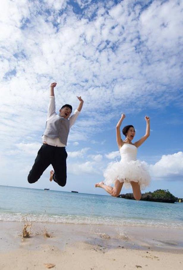 Gigi、史丹利沖繩甜蜜完婚 喜極而泣場面溫馨