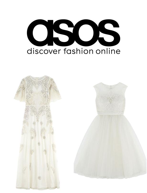 準新人們!ASOS的公主般夢幻婚紗降臨