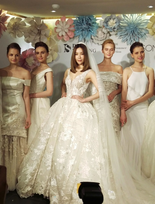 D-S Wedding x 吳季剛 充滿幸福洋溢完婚 今夏婚紗