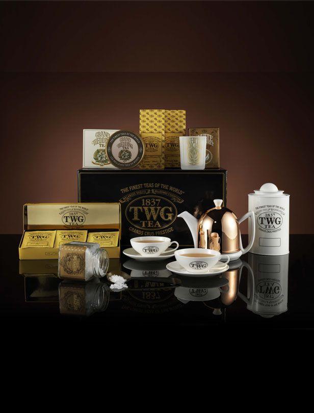 奢華茶葉品牌TWG Tea甄選婚禮系列 銘刻愛的里程碑