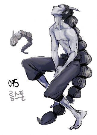 韩国插画家把宝可梦变成俊俏美男图片