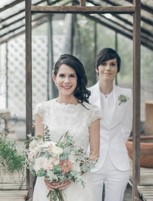25組同性婚紗照這樣拍也美!