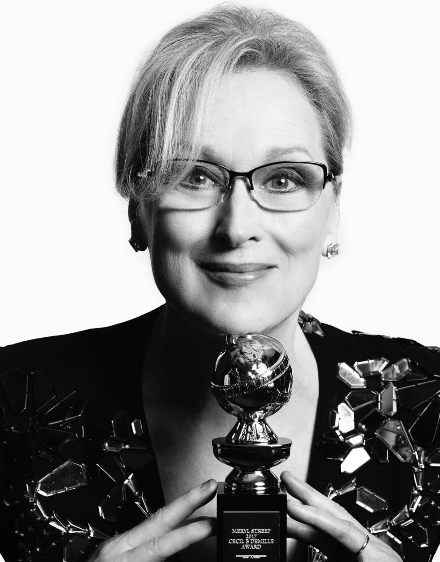 終身成就獎 梅莉史翠普(Meryl Streep)