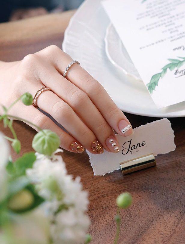 婚禮不可或缺的指彩小細節!7款時髦主題婚禮甲彩