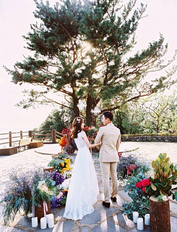 3種婚禮風格都在這裡進行!到濟州島來一場戶外主題婚禮吧