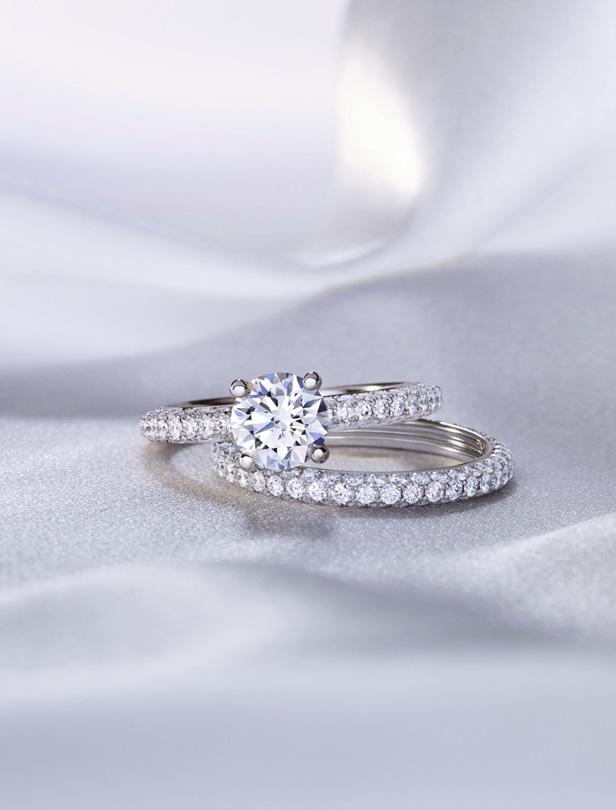 紀錄丘比特愛情故事的鑽石!用De Beers訂婚系列DB Da