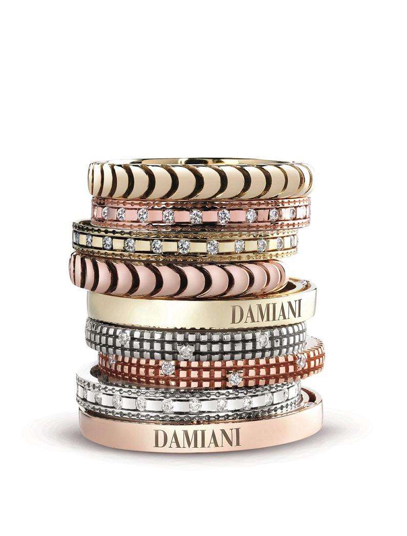 高級訂製或混搭風格兼具!Damiani為戀人們打造不簡單的鑽戒
