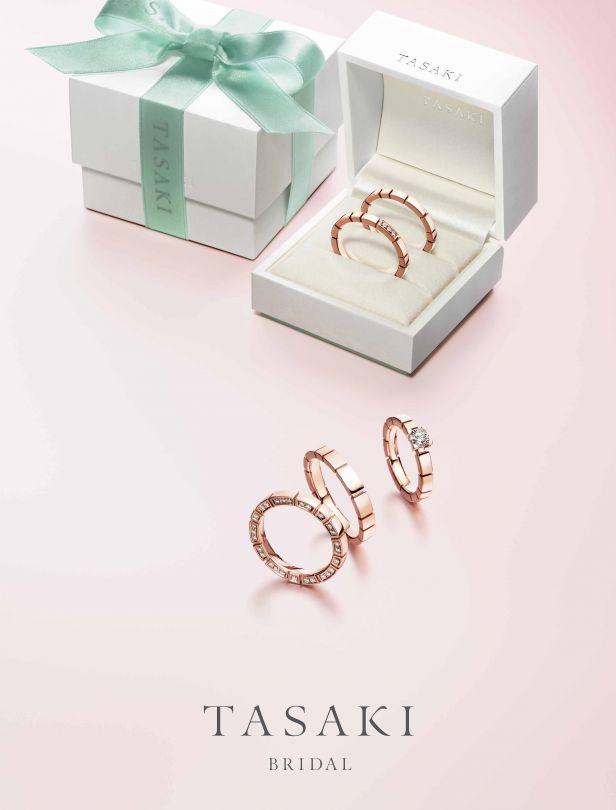 甜蜜色調太迷人!TASAKI櫻花K金戒指,多層次混搭更時髦!