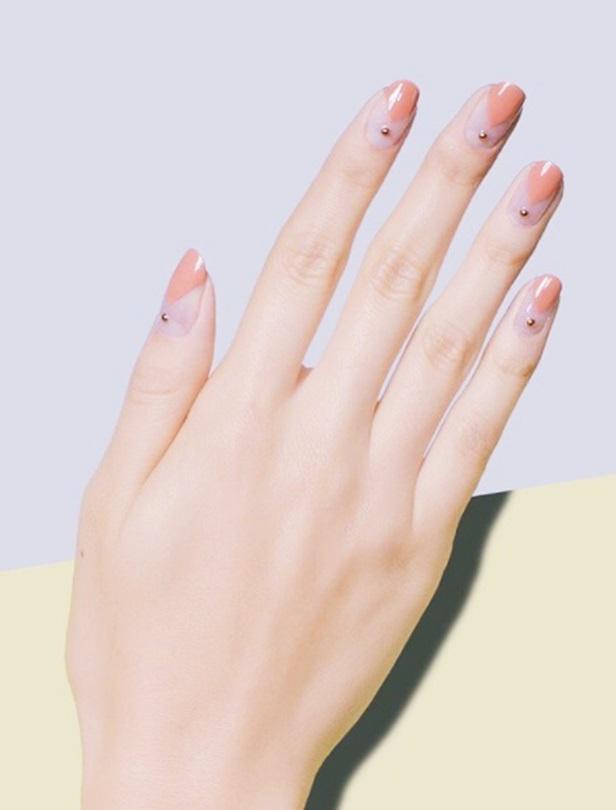 早秋新娘必選18款指彩元素!透明撞色、點綴裸金、深色款這裡挑