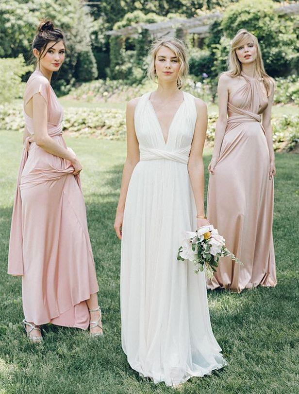 如果你很喜歡一件衣服,何不再多穿幾次?物超所值的伴娘禮服選擇!