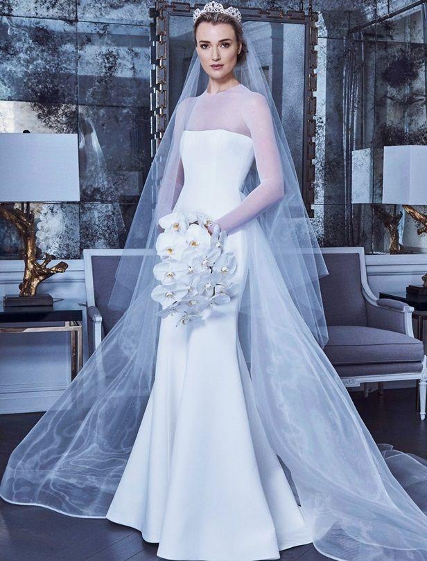 高雅、微性感、復古風準新娘就看這篇!5個準則帶你挑2019春夏
