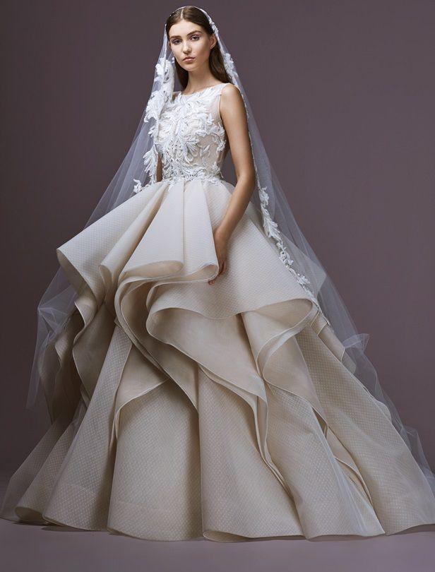迷耀金、浪漫白的神祕婚紗品牌!來自黎巴嫩Saiid Kobei