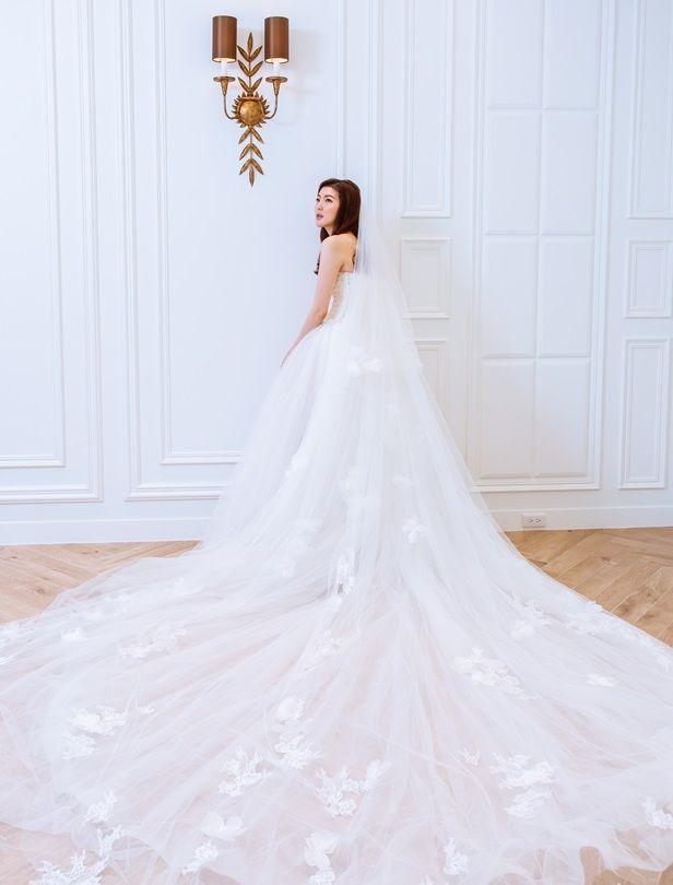 頭紗搭配好重要!6款超實用新娘頭紗搭配小技巧,教你穿出超時髦婚