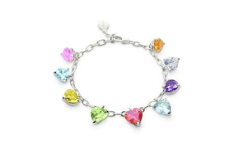 彩色水晶手鍊,Folli Follie,NT7,590