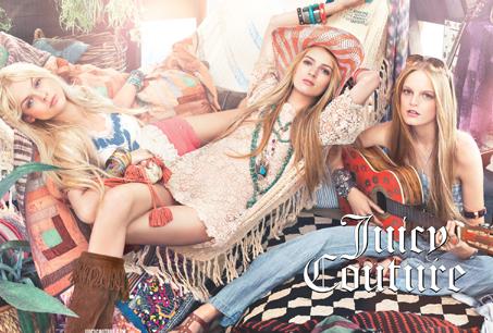 Juicy Couture 2011 SS廣告情境圖