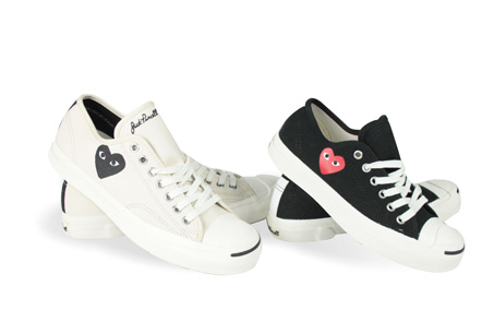 PLAY X CONVERSE 2011「Jack Purcell開口笑」鞋,NT4,900