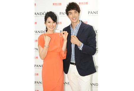 Melody與錦榮一同分享PANDORA的幸福故事