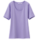 UNIQLO DRY女裝圓領T恤,NT199。