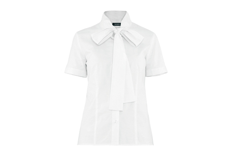 白色蝴蝶結繫帶襯衫,Max & Co,NT4,800
