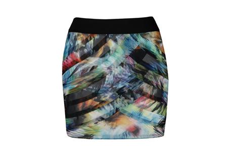 彩色印花多層次設計短裙,Ted Baker,NT5,480