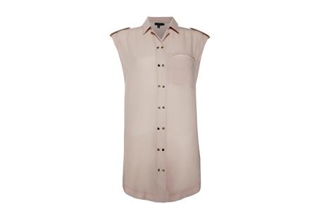 淺灰色雙排釦肩章襯衫,Ted Baker,NT7,680
