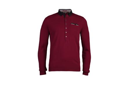 Bigjay紫色polo衫 NT4480