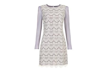 Malita淺灰色蕾絲洋裝 NT$9480
