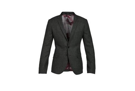 簡單俐落的西裝剪裁 Benon灰色西裝外套 NT15680