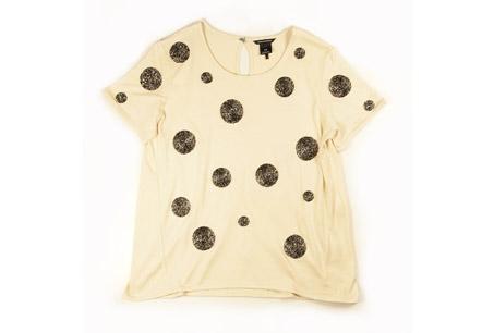膚色圓點T-Shirt,CLUB MONACO,NT$4,900