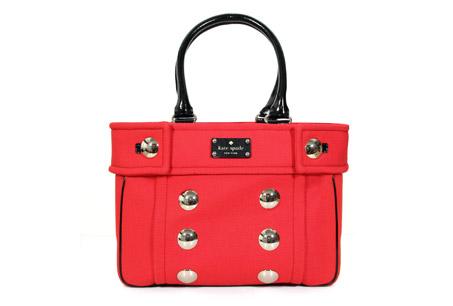 紅色托特包,kate spade,NT$165,000