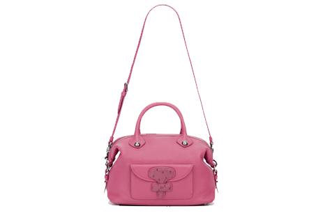洋紅色May bag,LOEWE,NT$61,000。