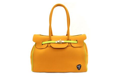 Neo-classic Bag 系列-橘黃色,$4480。