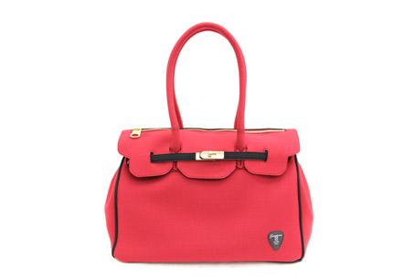 Neo-classic Bag 系列-亮紅色,$4480。
