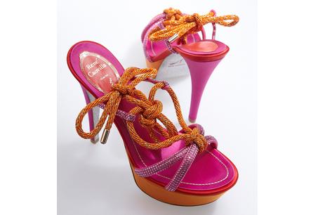 Capri with Love 系列 夏日風情派對鞋NTD 49,000