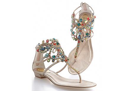 Murano 系列晶瑩奢華夾腳鞋NTD 51,000