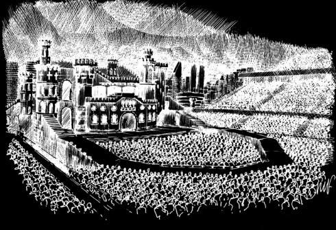 「女神卡卡」(Lady Gaga)《The Born This Way Ball 》巡迴演出會舞台草稿